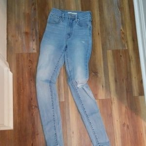 New Mile High Super Skinny Women's Jeans 24 Levis